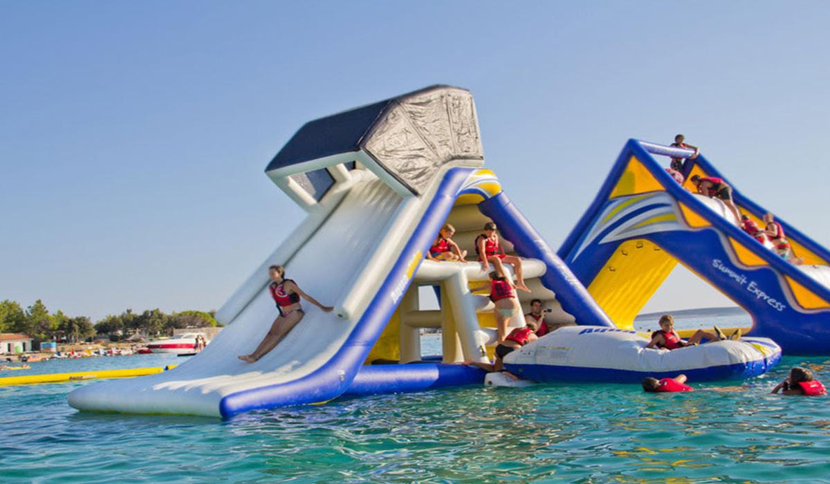 Sport, Wasserpark, Wasserspielanlage © Spielort.at