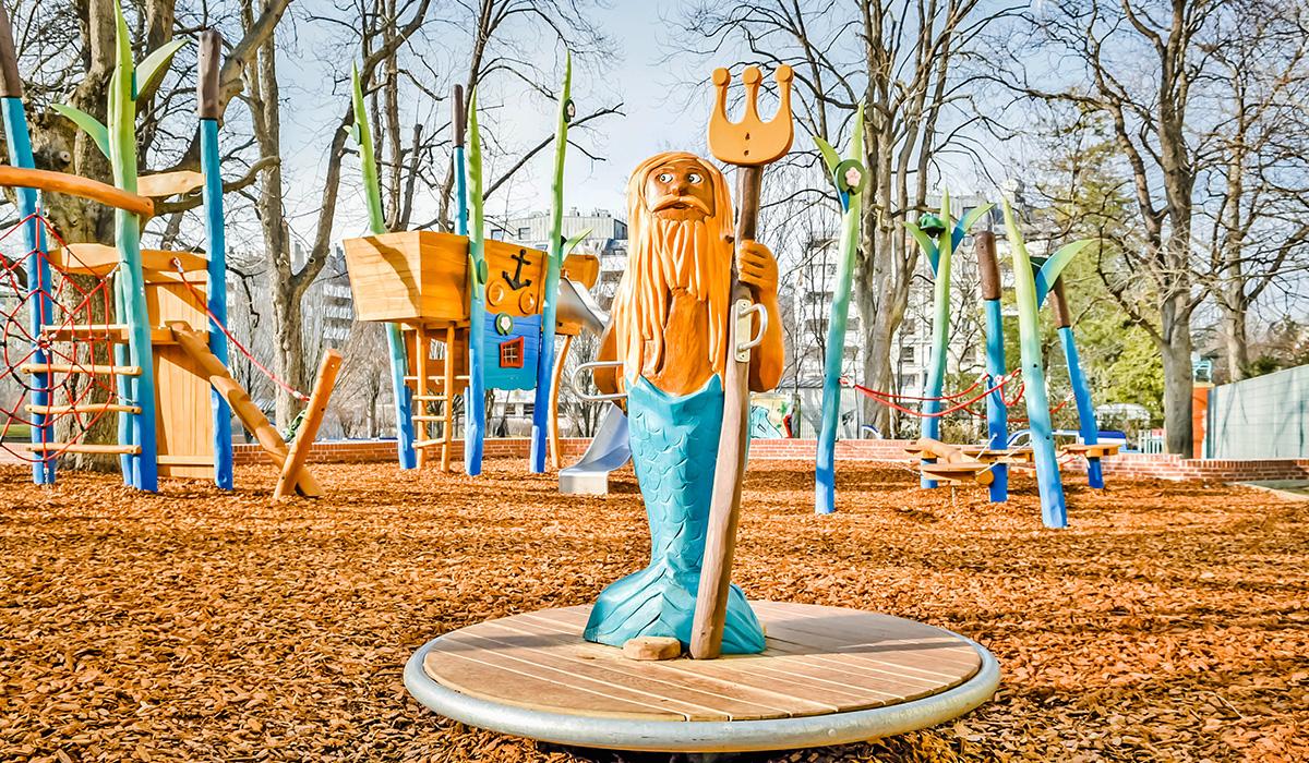 Abenteuerspielplätze aus Robinie © Spielort.at