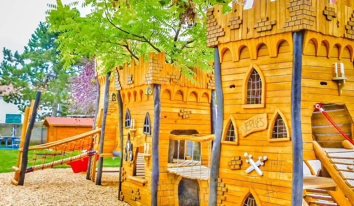 Abenteuerspielplätze 2 aus Robinie © Spielort.at