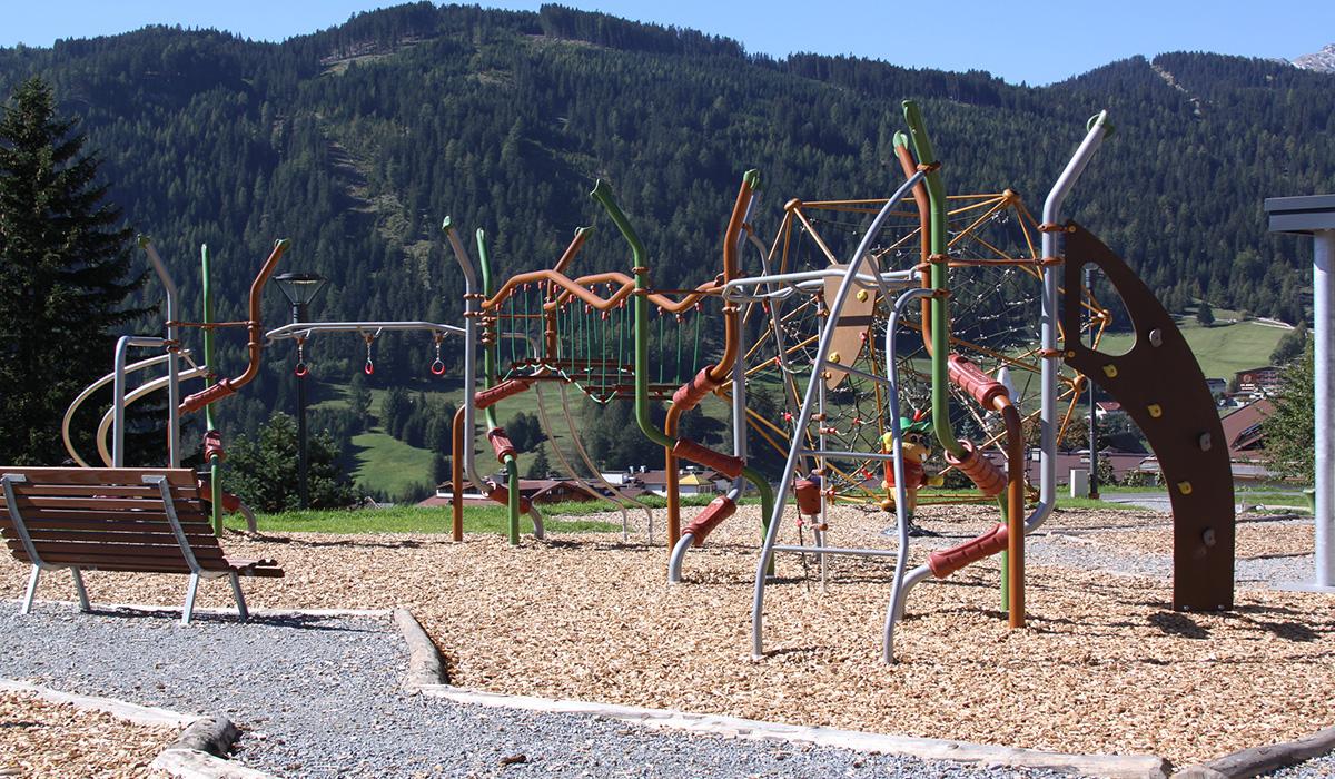 Generationenspielplatz Serfaus