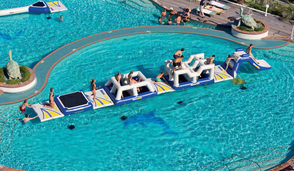 Sport, Wasserpark, Wasserspielanlage, Spielplatz © Spielort.at